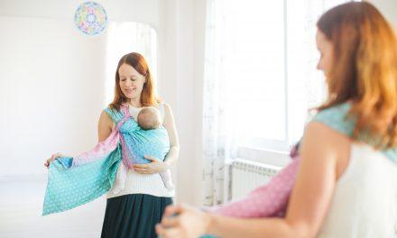Носене на бебето в слинг – правила за безопасност